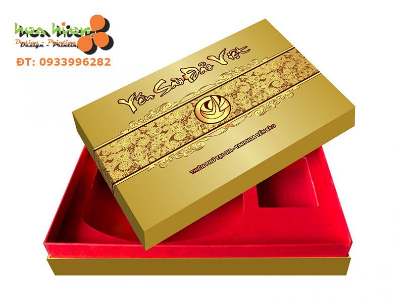 In hộp giấy đựng quà tặng cao cấp ở TPHCM