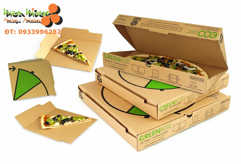In hộp giấy đựng thức ăn ở TPHCM