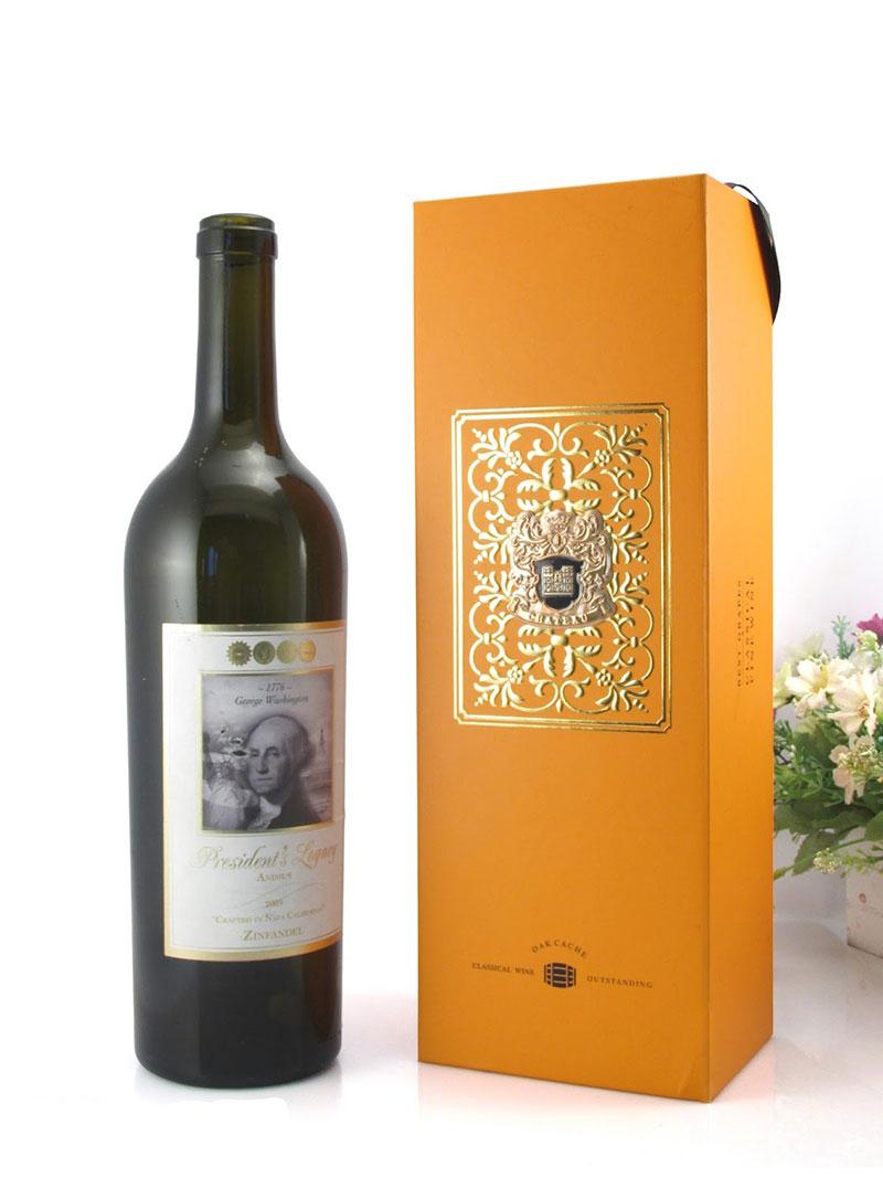 In hộp quà đựng rượu
