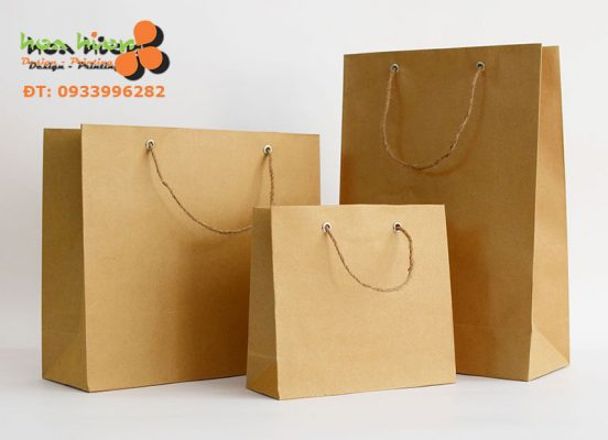 In túi giấy tái chế ở TPHCM