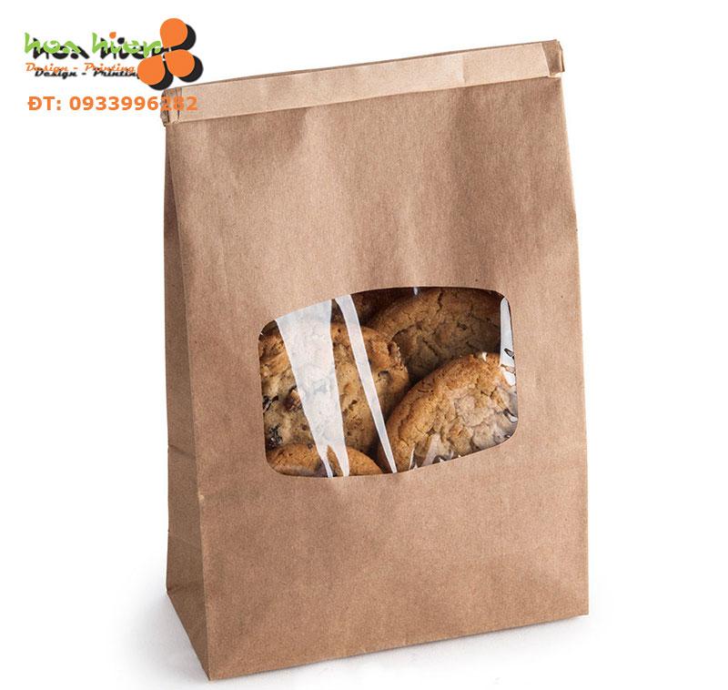 Túi giấy đựng thức ăn nhanh