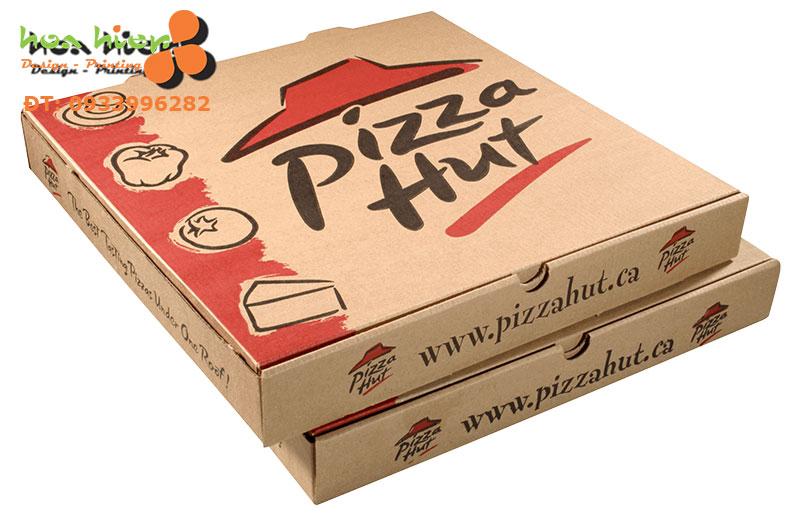In hộp giấy pizza ở TPHCM