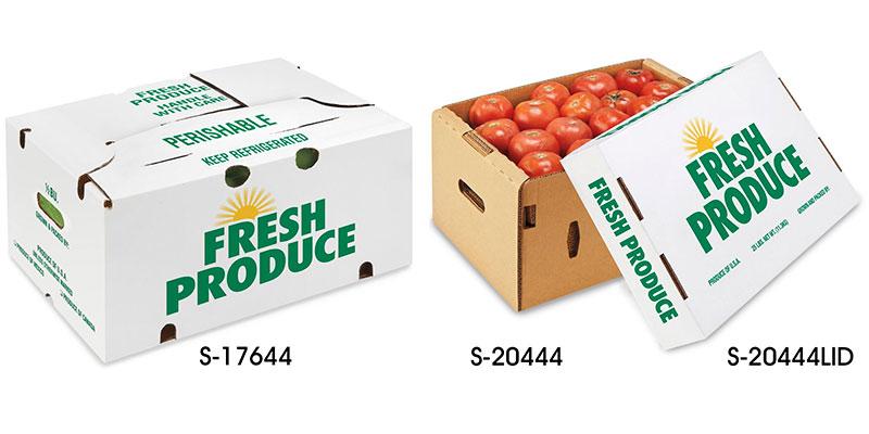 In hộp giấy đựng trái cây