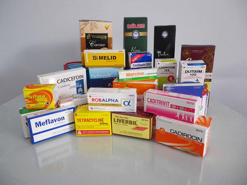 In vỏ hộp thuốc ở TP.HCM