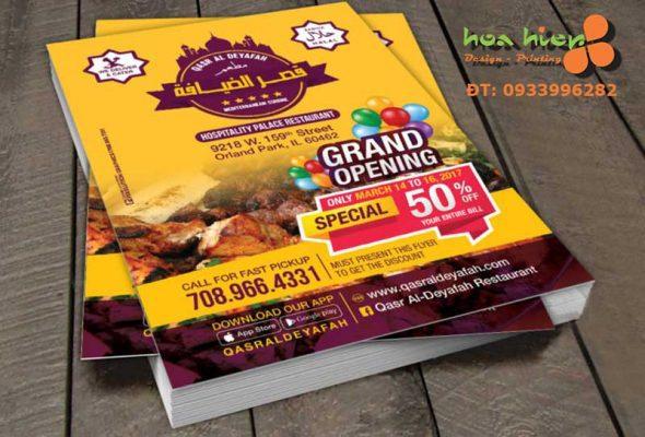 In flyer giá rẻ tại TPHCM