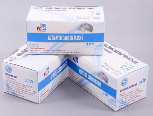 In hộp đựng khẩu trang y tế giá rẻ tại TPHCM