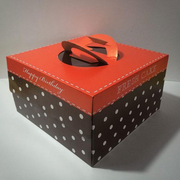 In hộp giấy đựng bánh kem sinh nhật