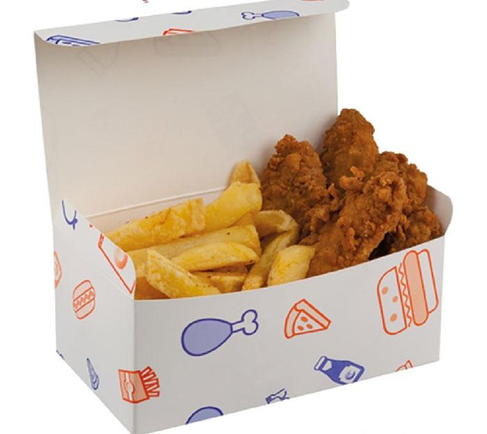 In hộp giấy đựng thức ăn giá rẻ