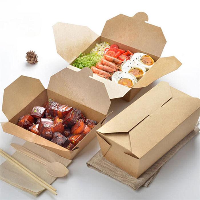 In hộp giấy đựng thức ăn tại TPHCM