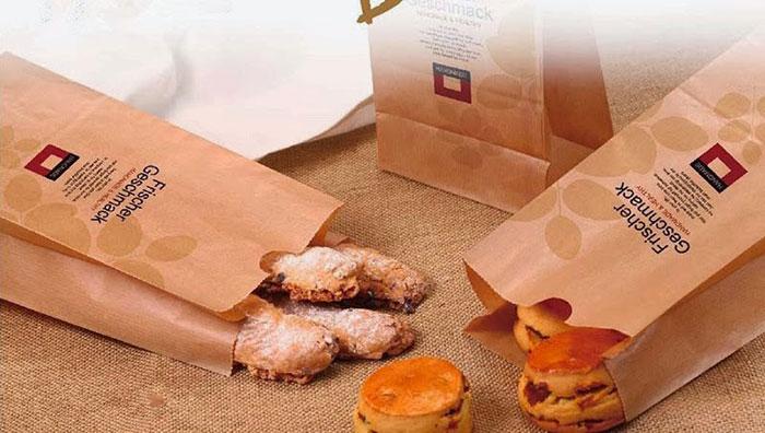 Túi giấy kraft đựng bánh mì