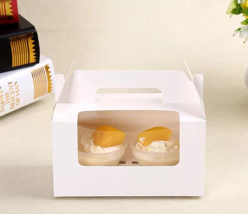 hộp bánh cupcake