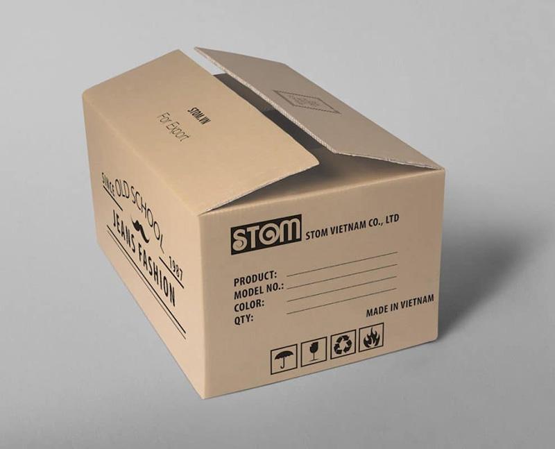 In hộp carton thùng carton