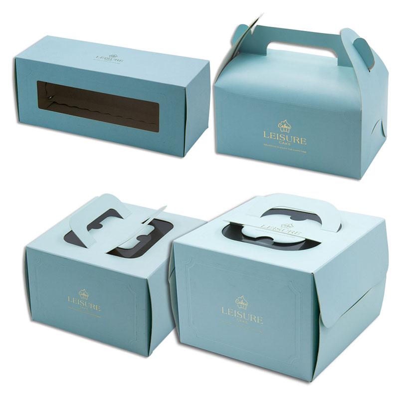 In hộp giấy đựng bánh cupcake