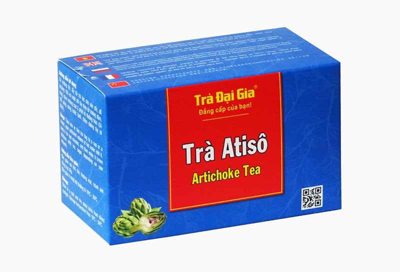 In hộp trà Atiso