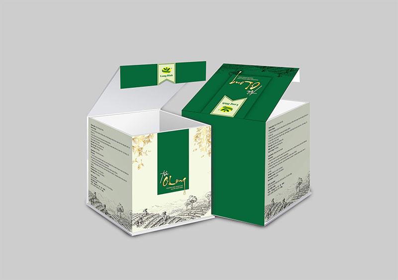 In hộp trà theo yêu cầu