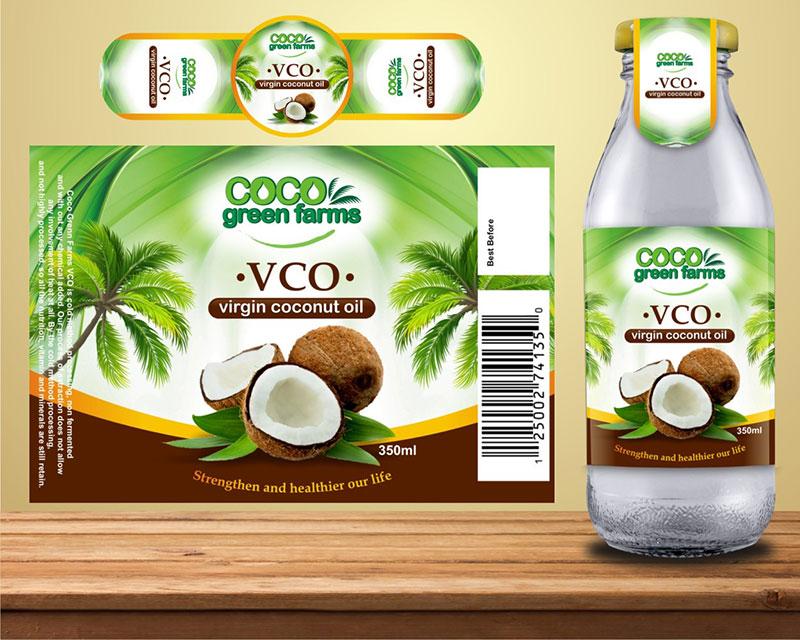 In tem dầu dừa