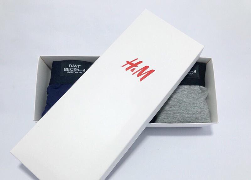 Làm hộp giấy đựng quần lót, quần xì theo yêu cầu